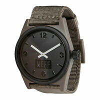 Neff Men's Daily Watch Bark/Woven Brown Accessories Casual Skate Good Quality