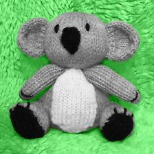 KNITTING PATTERN - Kira the Koala chocolate orange cover / 15 cms Animal toy