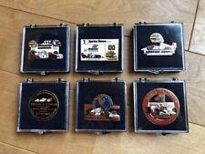 Ayrton Senna Pin Badge 6 pieces Rare Difficult to obtain