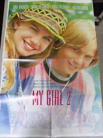 Vtg 1 sheet 27x41 Movie Poster My Girl 2 1993 Jamie Lee Curtis Dan Aykroyd