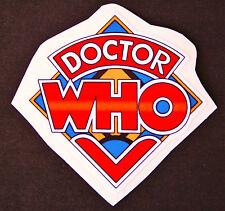 Doctor Who Logo Sticker PVC Luggage Skateboard Laptop Bike 6 cm