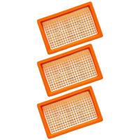 3x Original Flachfilter für KÄRCHER wie 2.863-005.0 MV 4 5 6 P WD4 Premium