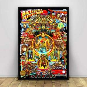 Big Trouble in Little China -Movies Poster-Vintage Comic Poster-Poster Print