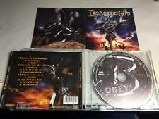 BENEDICTUM - ''OBEY'' - FEMALE FRONTED US METAL CD 2013- LIKE NEW!! LEATHER!!!