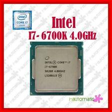 Intel Core i7-6700K Skylake Processor 4.0GHz 8.0GT/s 8MB LGA 1151 CPU Original
