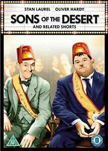 LAUREL AND HARDY - SONS OF THE DESERT - DVD - NEW SEALED**FREE POST**