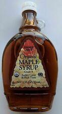 Trader Joe's Organic 100% Pure Maple Syrup Dark Grade A 12 oz cooking pancakes