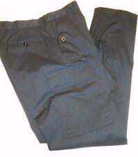 Ralph Lauren Black Label Stretch Cotton Cargo Pocket Pant 34 x 32 $450 Black