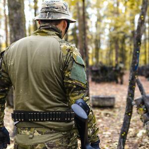 Shotgun Bandolier Ammo Holds 28 Shells Hunting Shell Belt Shotshell Holder 12G