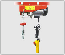 New HD 880LB ELECTRIC MOTOR OVERHEAD GARAGE WINCH HOIST