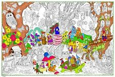 Gnome Home - Giant Coloring Poster (32½ x 22 Inches)