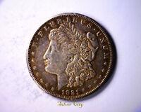 RARE R7  HIT LIST 40 1921-S THORN HEAD VAM 1B4A MORGAN SILVER DOLLAR U.S. COIN