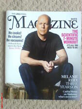 THE TIMES MAGAZINE JULY 2013 BRUCE WILLIS COVER COLLECTABLE NEW