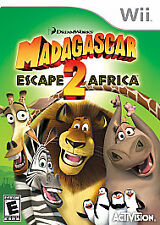 MADAGASCAR: ESCAPE 2  AFRICA  Nintendo Wii Game 2008 -PAL-