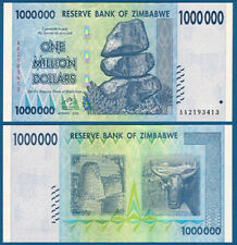 SIMBABWE / ZIMBABWE 1.000.000 Dollars 2008 UNC P.77