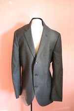 JCrew Aldridge Three-Button Suit Jacket in Italian Wool 44R Charcoal Blazer $425