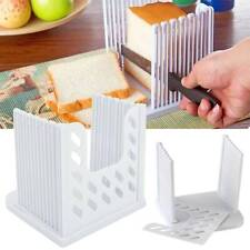 Adjustable Bread Slicer Cutter Toast Mold Slicing Cutting Guide Kitchen Tool HOT