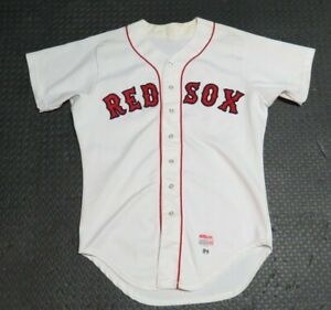 1984 Bob Ojeda Boston Red Sox Game Used Worn MLB Baseball Jersey! World Series C