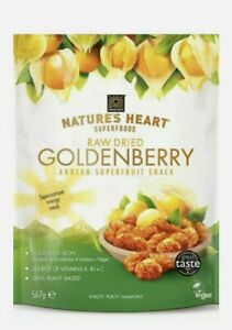 Nature's Heart Dried Golden Berry Andean Super Fruit Snack 567g
