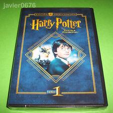 HARRY POTTER Y LA PIEDRA FILOSOFAL EDICION COLECCIONISTA 2 DISCOS DVD NUEVO