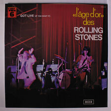 ROLLING STONES: Got Live If You Want It! (l'age D'or 6) LP (France, laminated g