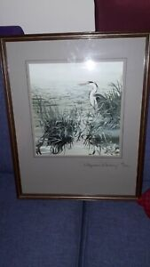 Pollyanna Pickering Heron Limited Edition 18/100 Signed Print