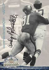 Andy Robustelli Autograph On A 1994 Ted Williams - New York Giants - Free Ship