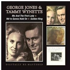 George Jones & Tammy - Me & the First Lady / We're Gonna Hold on [New CD]