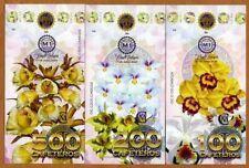 POLYMER SET, El Club De La Moneda  100-200-500 Cafeteiros 2021 > Orchids