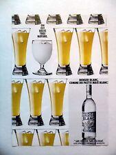PUBLICITE-ADVERTISING :  BERGER BLANC  1990 Pastis,Alccol