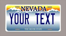 """NEVADA custom novelty license plate-your name or text 6""""x12""""-FREE SHIPPING"""