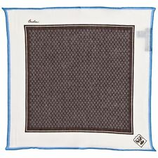 Corneliani Men's 100 Linen Pocket Square Handkerchief Gift for Him