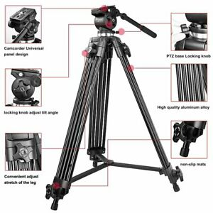 Weifeng Adjustable 3-stage Telescopic Leg Photography Tripod Suit for DSLR or DV