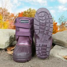 Town & Country Purple Charnwood Hypoallergenic Warm Walking Boots UK 5