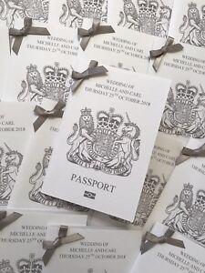 10 unusual unique passport invitations for weddings abroad