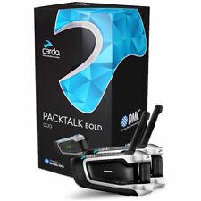 Cardo Scala Rider Packtalk Pack Talk Bold Duo Motorcycle Bike Bluetooth Intercom