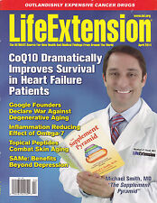 LIFE EXTENSION April 2014 -- CoQ10, Omega-7, SAMe, Cancer Drugs, Supplements