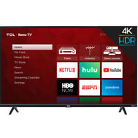 "TCL 50S425 50"" 4-Series Roku 4K UHD LED Smart TV w/ Alexa & Google Assistant"