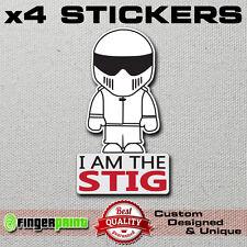 I AM THE STIG decal vinyl sticker TOP GEAR funny jdm euro mazda honda toyota kia
