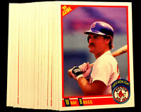 1990 Score #704 WADE BOGGS ~ 20 CARDS LOT ~ HIGHLIGHTS ~ HALL OF FAME INDUCTEE