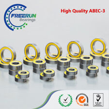 Axial SCX10 II (V2) Ball Bearing Set ABEC3 YELLOW RUBBER