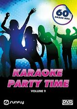 PARTY TIME VOL 9  SUNFLY KARAOKE DVD - 60 HIT SONGS
