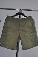 Men's banana republic khaki cargo shorts vgc waist 35