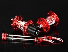 KOOZER Hub 32H Mountain Bike QR Quick release Hubs F100*9 R135*10 Front Rear Red
