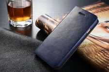Genuine Real Leather Wallet Holder Flip Phone Case Cover for iPhone 5 6S 7 8Plus