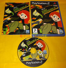 DISNEY'S KIM POSSIBLE WATH'S THE SWITCH? Ps2 Vers Italiana 1ª Ed ○ COMPLETO - A8