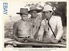 Norman Foster barechested Victor Jory VINTAGE Photo Escape From Devil's Island