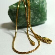 14K 585er Kette Schlangenkette Collier Halskette Gold 44 cm