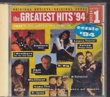 THE GREATEST HITS 1994 V1 CD MAGNUM Laura Pausini Phil Collins Enigma Mr Big