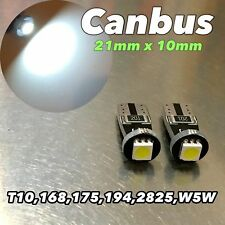 Canbus T10 LED SMD 6K White Bulb Parking Light 194 168 12961 W5W W1 E